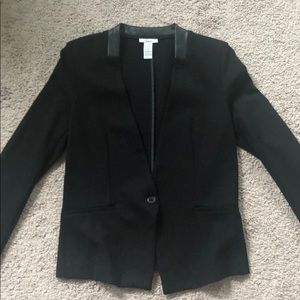 Bar III black single-button blazer